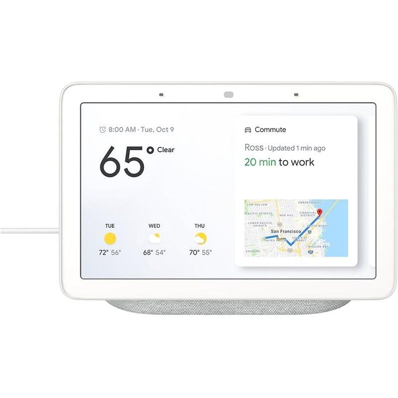 Google Nest Hub Chalk - Hlasový asistent