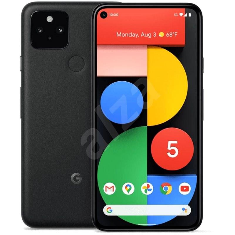 Google Pixel 5 černá - Mobilní telefon