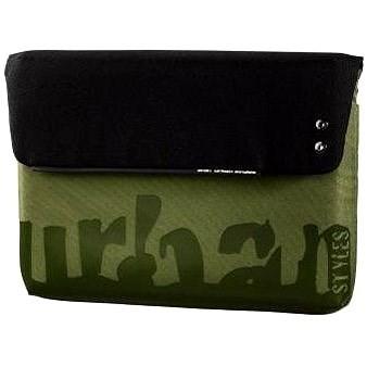 """AHA Urban Stan 13.3"""" černo-zelená - Brašna na notebook"""