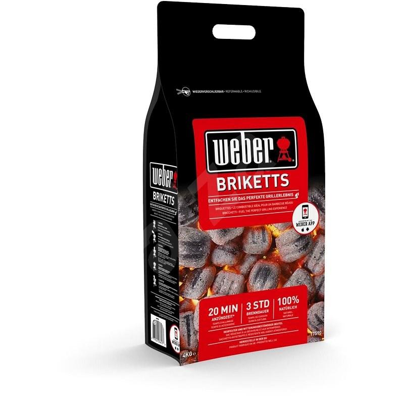 Weber brikety, 4 kg - Brikety