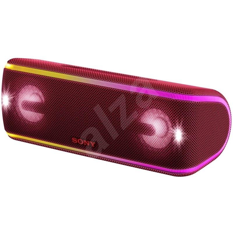 Sony SRS-XB41, červená - Bluetooth reproduktor
