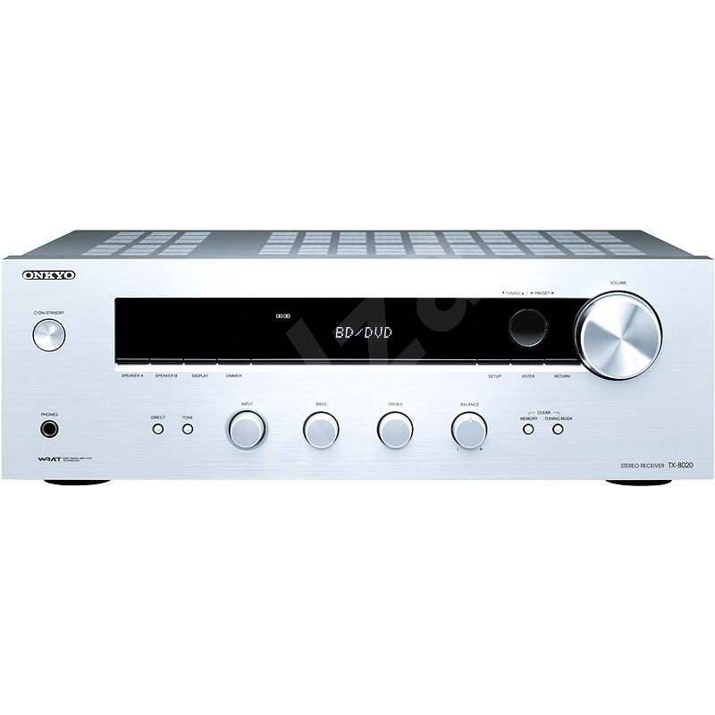 ONKYO TX-8020 stříbrný - Stereo Receiver