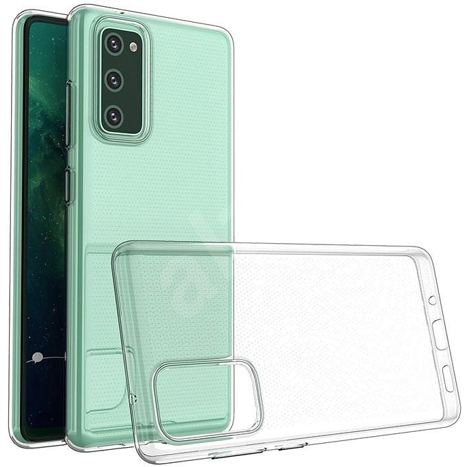 Hishell TPU pro Samsung Galaxy S20 čirý - Kryt na mobil