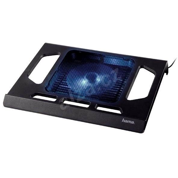 Hama pro notebook chladící, černý - Chladící podložka