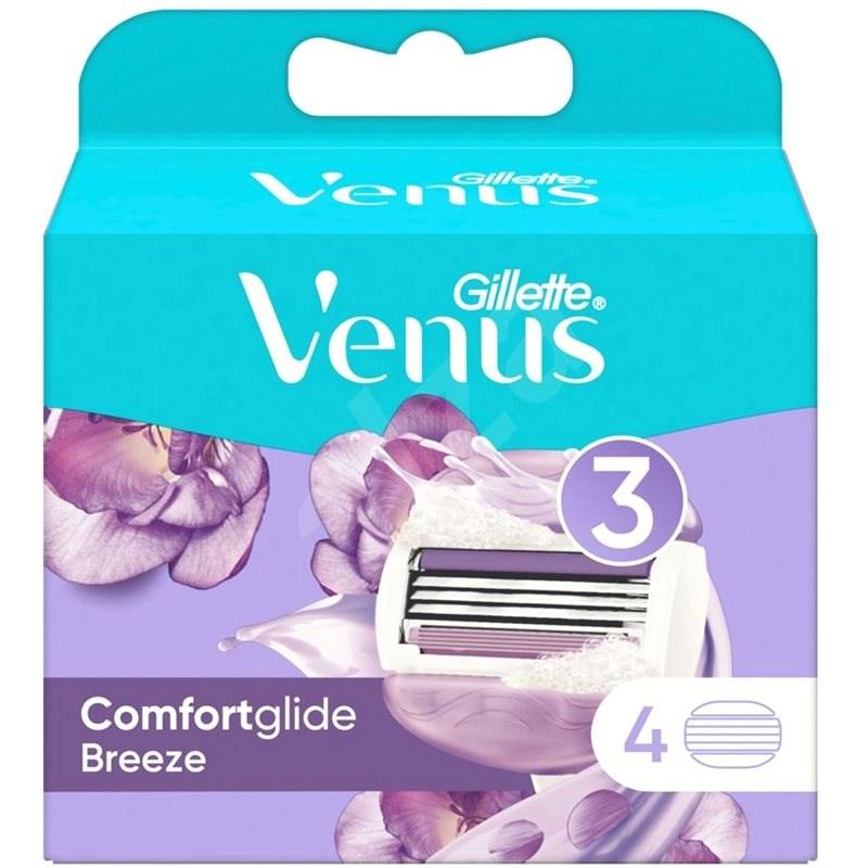 GILLETTE Venus ComfortGlide Breeze 4 ks - Dámské náhradní hlavice