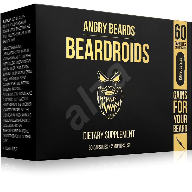 ANGRY BEARDS Beardroids - Beard Growth Product