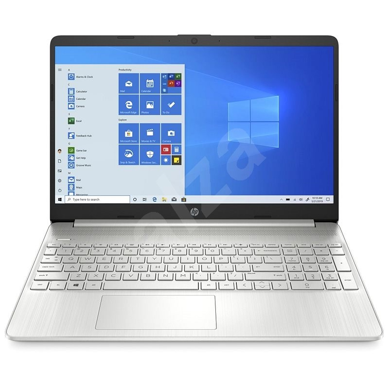 HP 15s-fq1012nc Natural Silver - Notebook