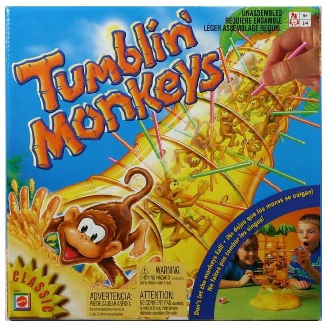 Padající opičky - Společenská hra