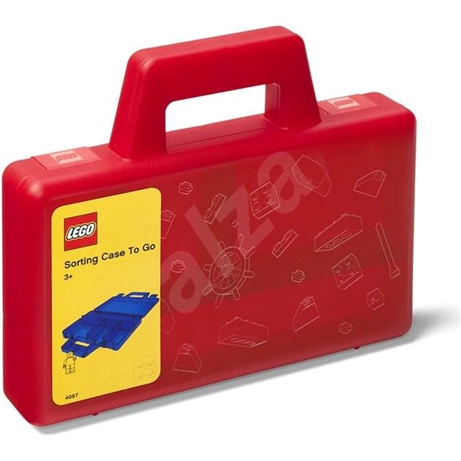 LEGO úložný box To-Go červený - Úložný box