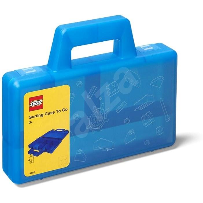 LEGO úložný box To-Go modrý - Úložný box