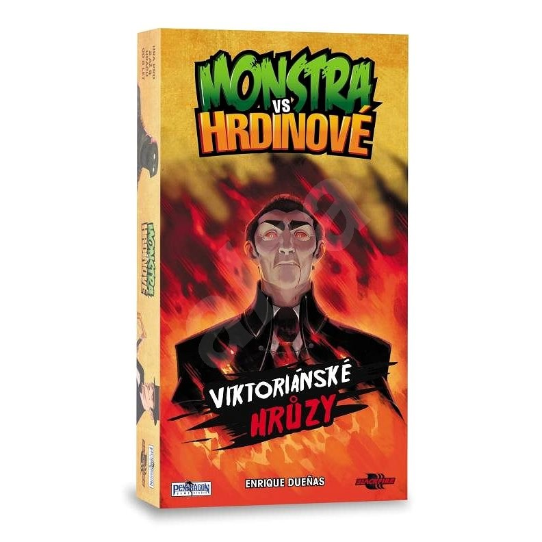 Monstra vs. Hrdinové - Karetní hra