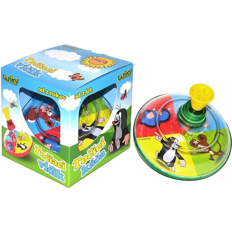 Krteček Točící káča - Hudební hračka