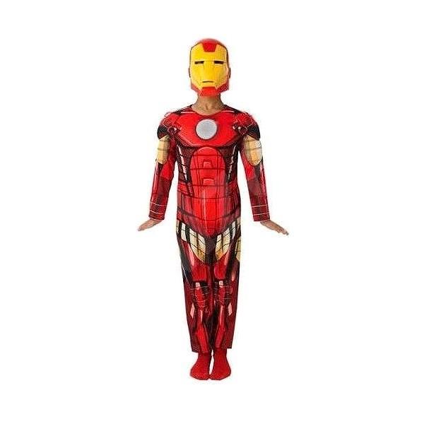 Avengers: Assemble - Iron Man Deluxe vel. S - Dětský kostým