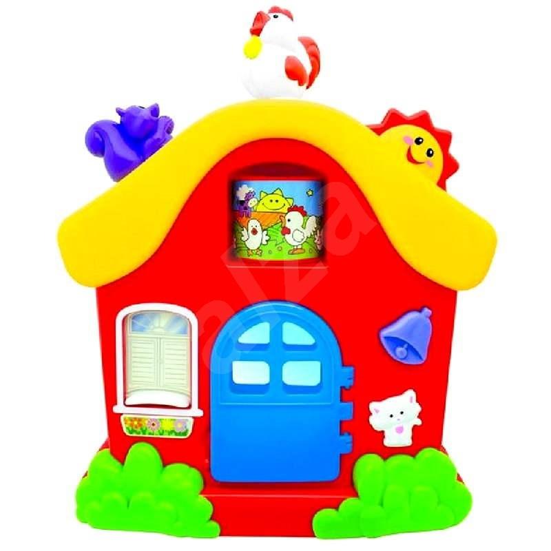 Malý hrací domeček - Hudební hračka