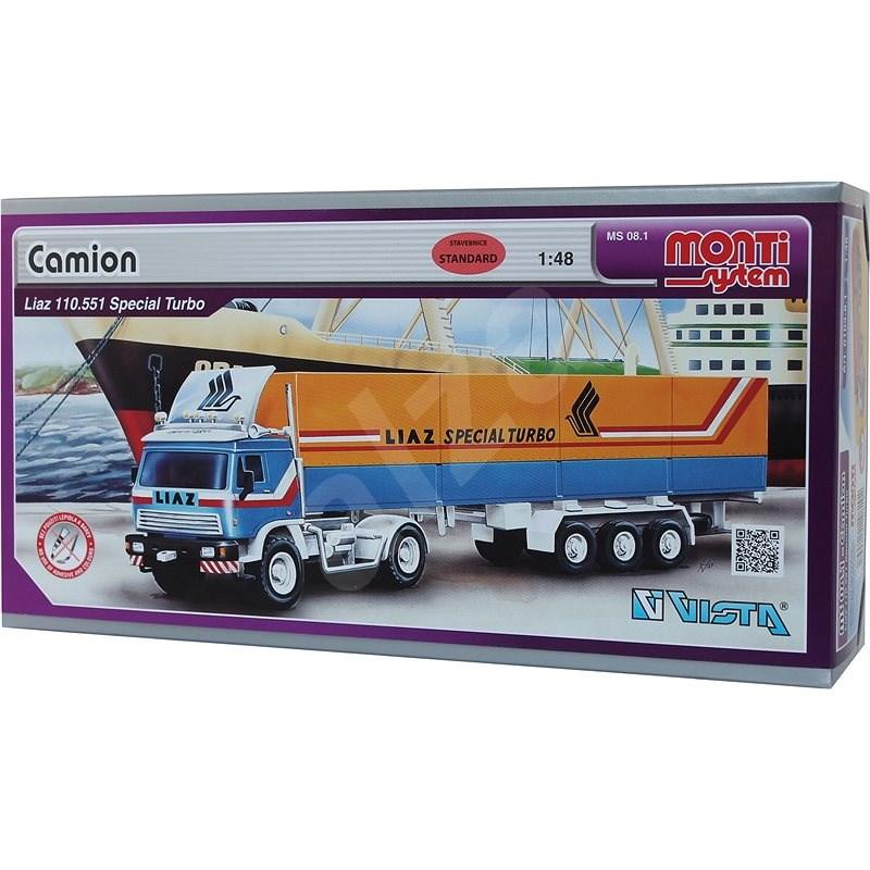 Monti system 81 - Kamión Liaz Special Turbo měřítko 1:48 - Stavebnice