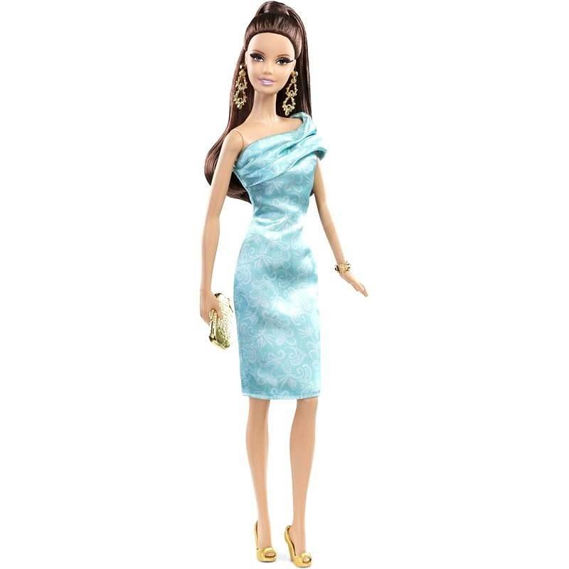 Sběratelská kolekce - Barbie v modrých šatech - Panenka