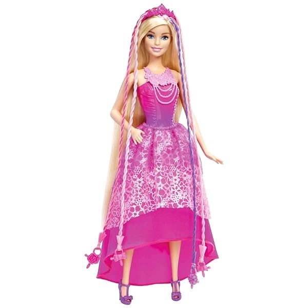 Mattel Barbie - Kouzelné vlasy - Panenka