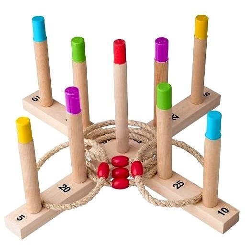 Woody Házení kroužků - Venkovní hra
