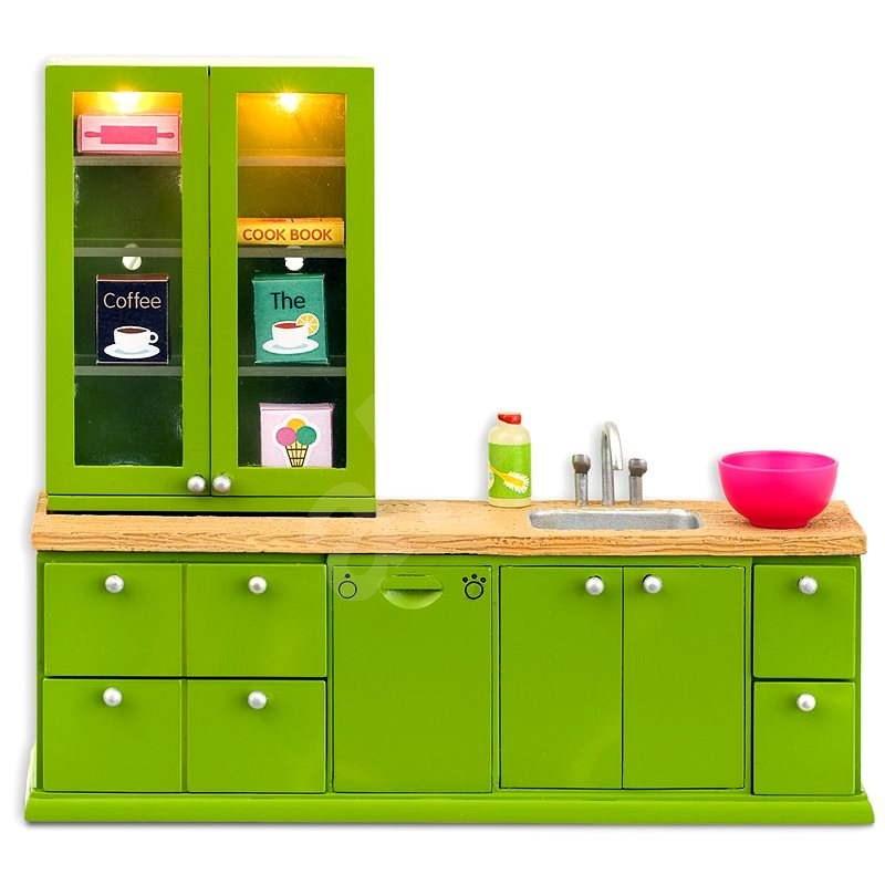 Lundby Smaland - Kuchyňský set s myčkou nádobí a příslušenstvím  - Nábytek pro panenky