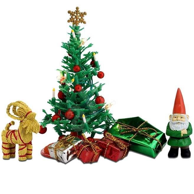 Lundby Smaland - Vánoční stromeček - Nábytek pro panenky