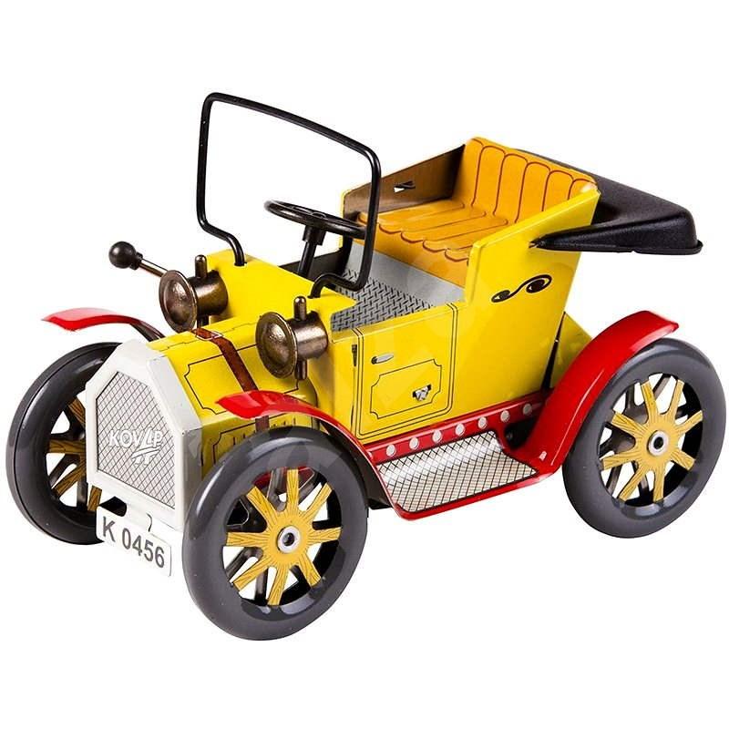 Kovap Automobil dědeček na pérový strojek - Kovový model