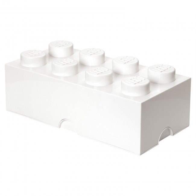 LEGO Úložný box 8 250 x 500 x 180 mm - bílý - Úložný box
