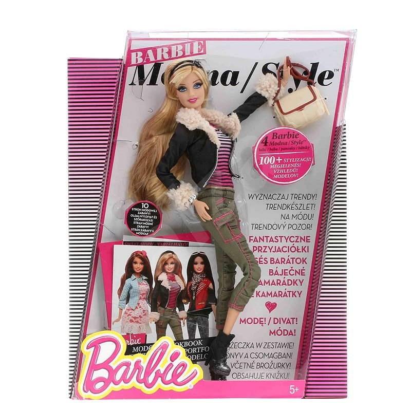 Barbie - Modní ikona v kožené bundě - Panenka