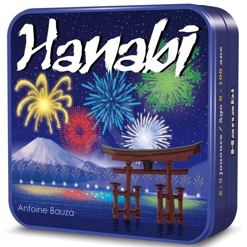 Hanabi CZ - plechová krabička - Karetní hra