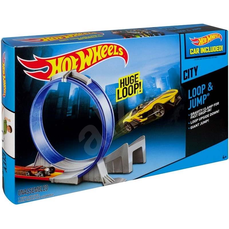 Hot Wheels - Slučka a skok - Herní set