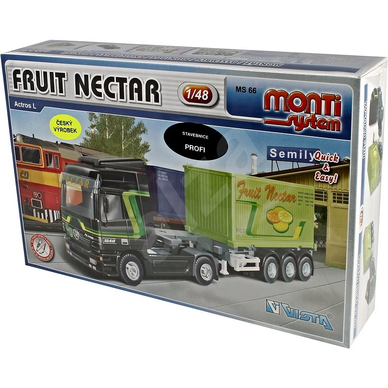 Monti system 66 - Fruit Nectar Actros 1:48 - Stavebnice
