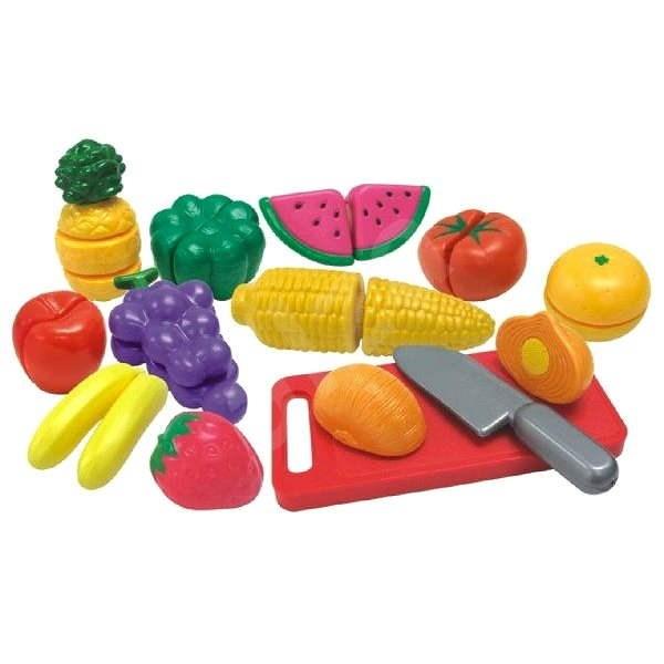 Ovoce a zelenina krájená v krabičce - Herní set