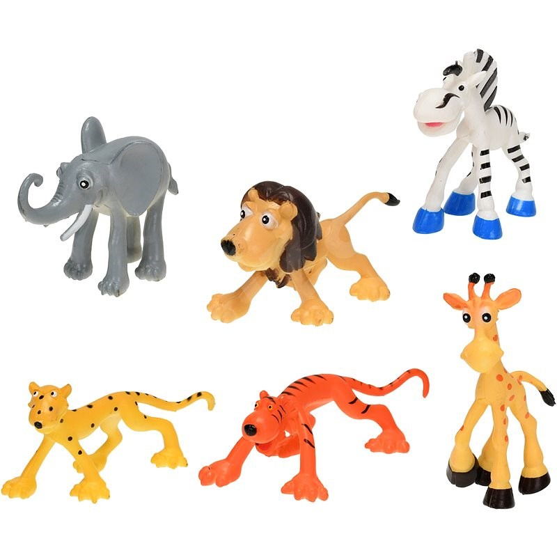 Zvířátka safari - Figurky