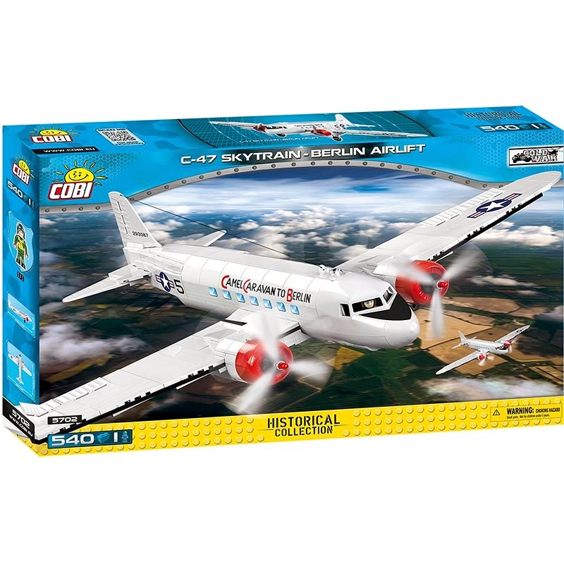 Cobi Douglas C-47 Skytrain Dakota Berlin Airlift - Stavebnice