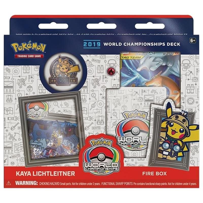 Pokémon TCG: 2019 World Championship Decks: Kaya Lichtleitner - Karetní hra