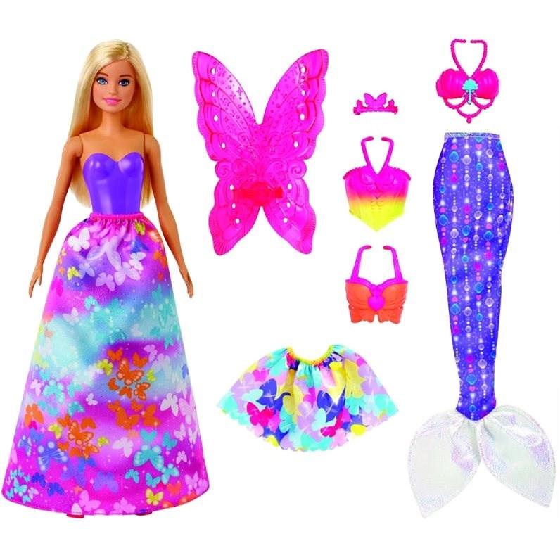 Barbie Panenka a pohádkové doplňky - Panenka