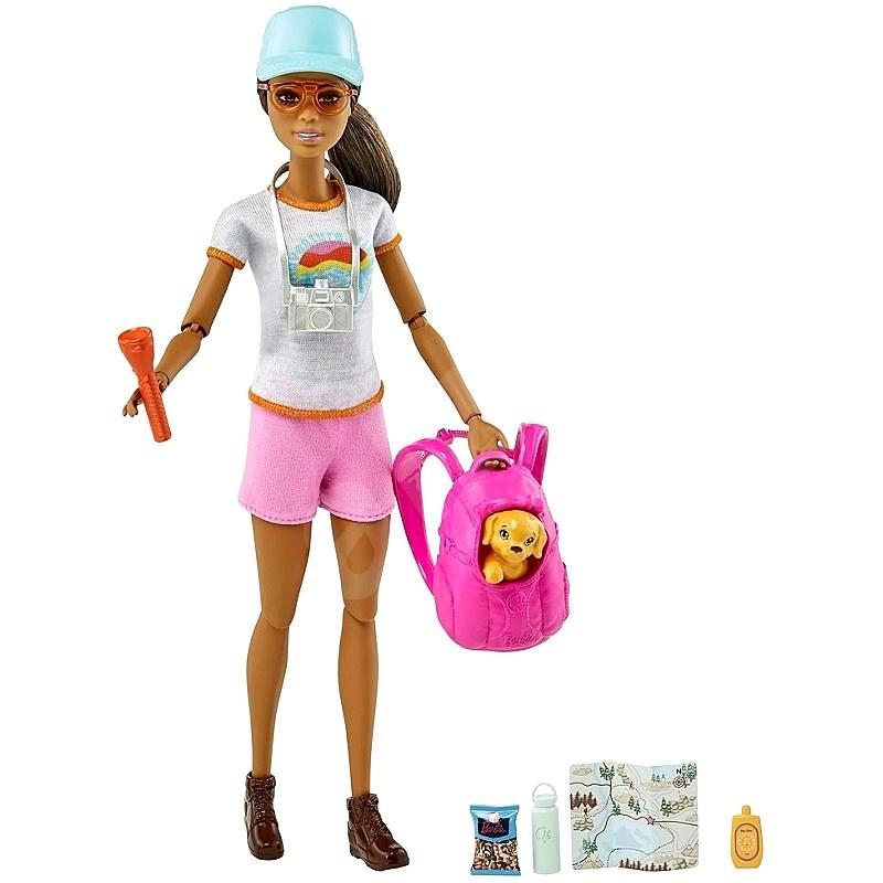 Barbie Wellness panenka s foťákem - Panenka