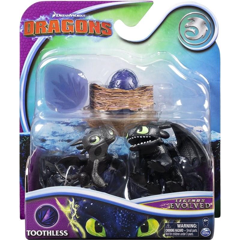 Draci evoluční balení - Toothless - Figurky
