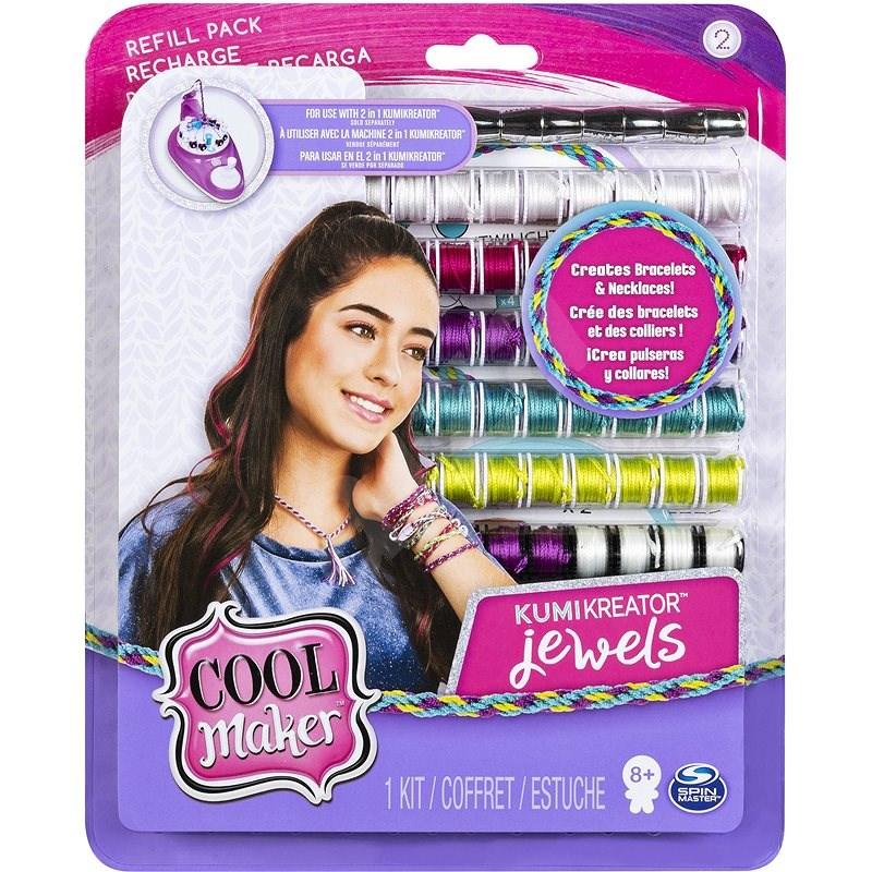 Cool Maker Náhradní nitě pro náramkovač 2019 - Jewels - Příslušenství ke kreativní sadě