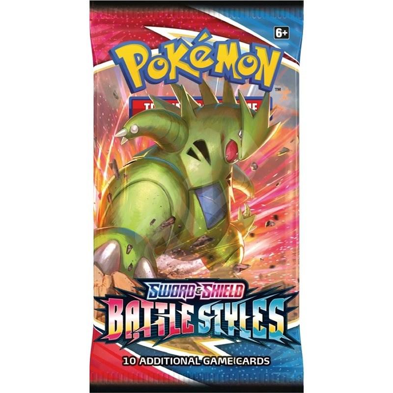 Pokémon TCG: SWSH05 - Booster - Karetní hra