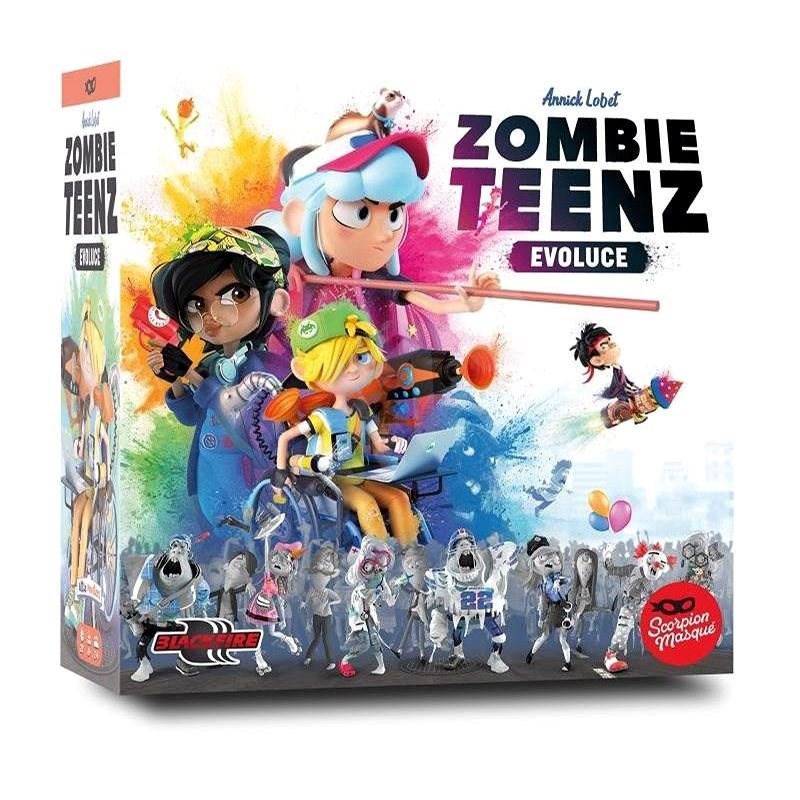 Zombie Teenz: Evoluce - Desková hra