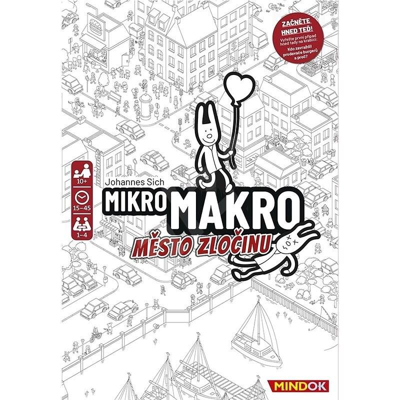 MikroMakro: Město zločinu - Společenská hra