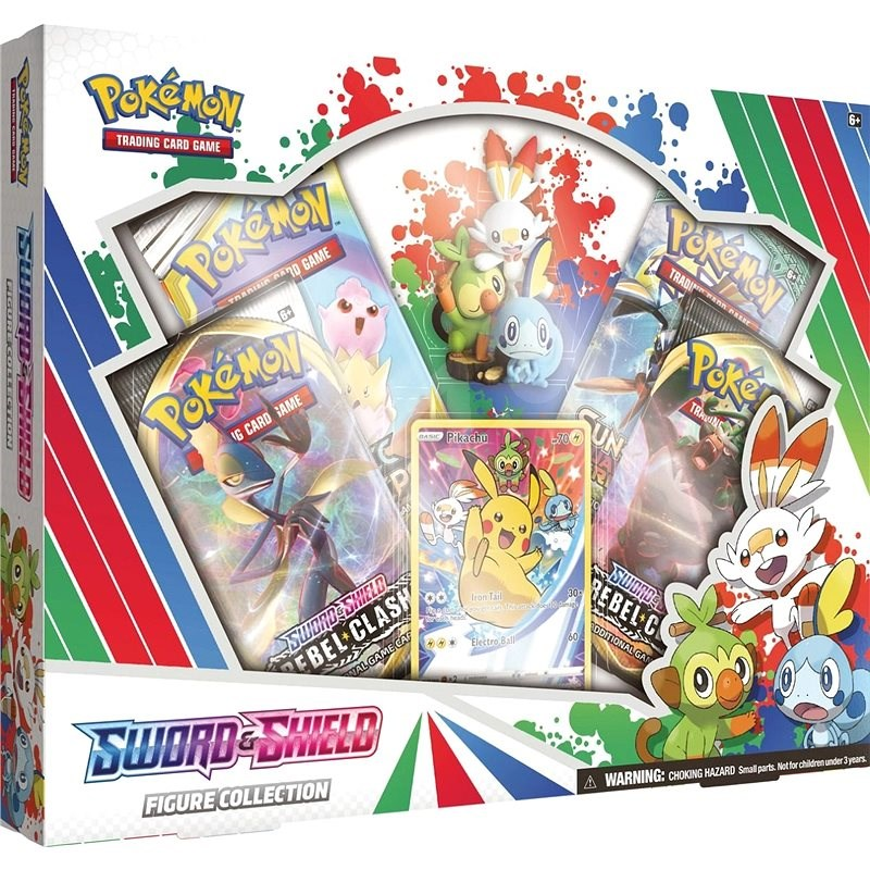Pokémon TCG: Sword & Shield Figure Collection EN - Karetní hra
