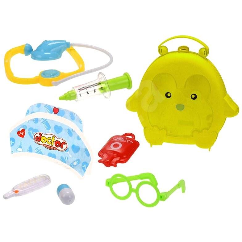 Doktorský kufřík žlutý - Tematická sada hraček