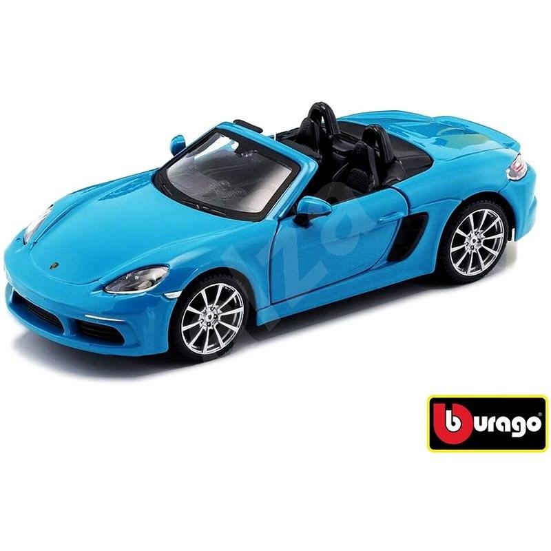 Bburago Porsche 718 Boxster Blue - Model auta