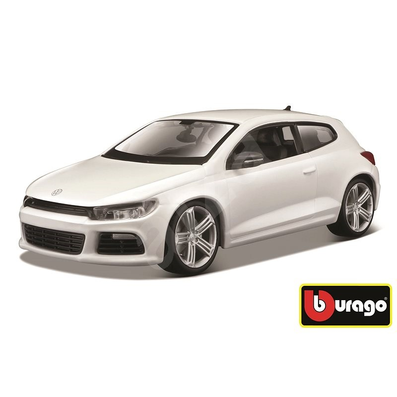 Bburago Volkswagen Scirocco R White - Model auta