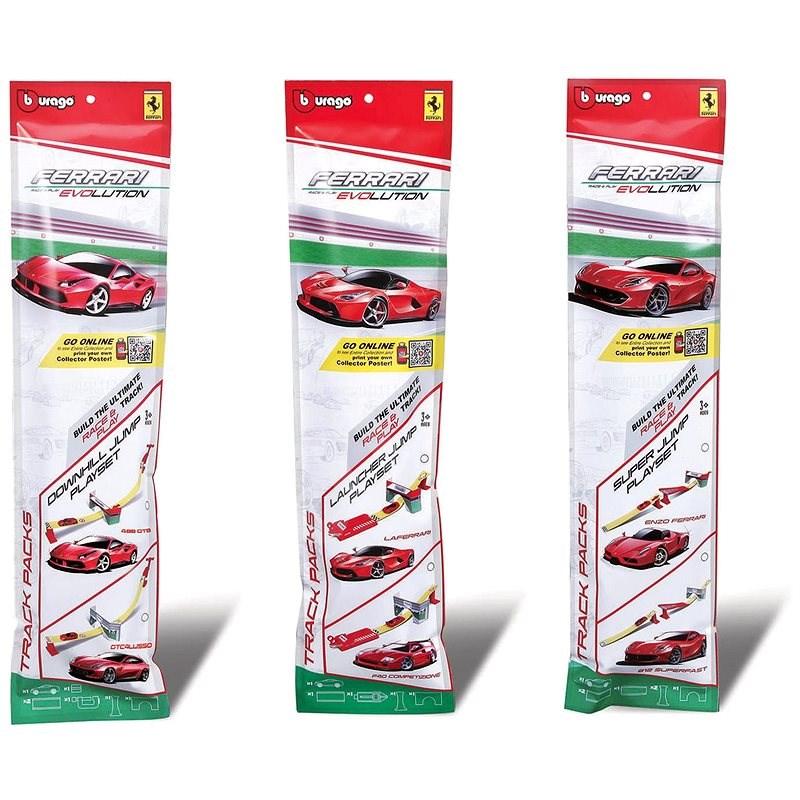 Bburago Ferrari JUMP rampa - Model auta