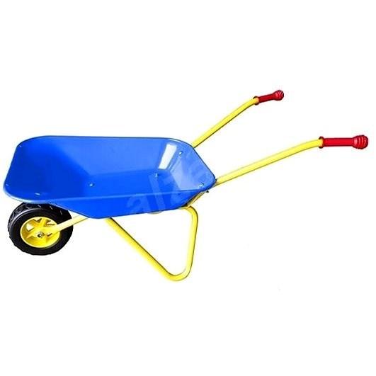 Plechové kolečko Yupee velké modré - Dětské zahradní kolečko