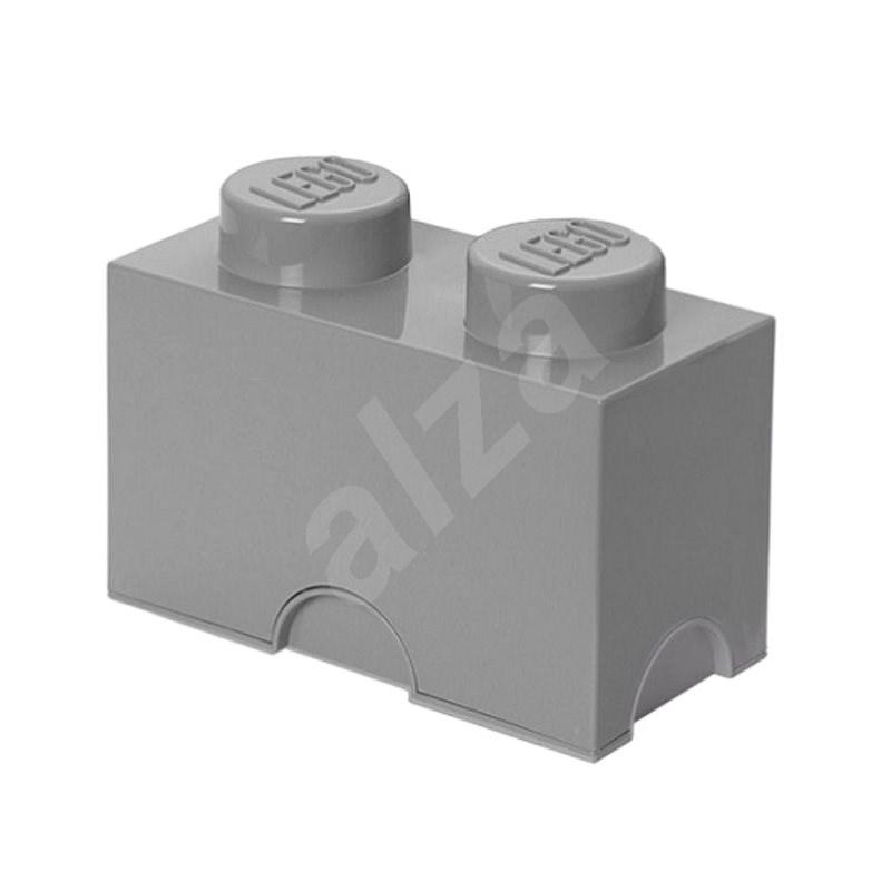LEGO úložný box 2 - šedá - Úložný box