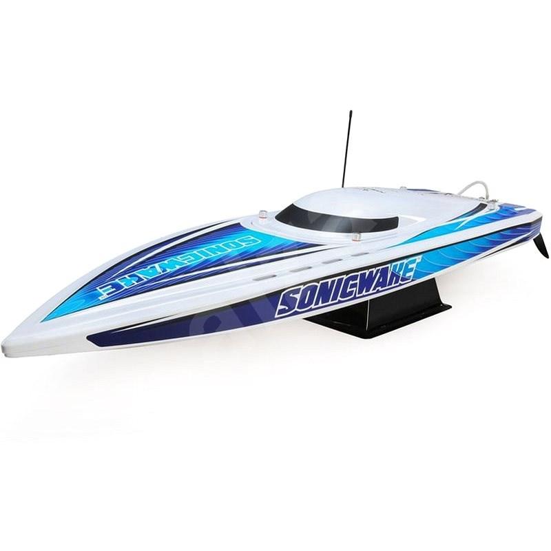 """Proboat Sonicwake 36"""" Self-Right Deep-V BL RTR bílý - Loď"""