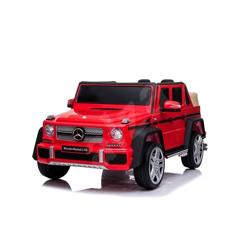 Mercedes G650 MAYBACH, červené - Dětské elektrické auto